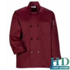 Куртка М поварская, рукав длинный, коттон ( L, цвет белый)