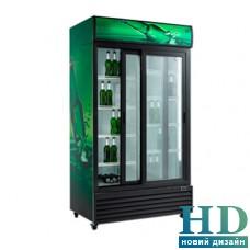 Шафи холодильні скляні