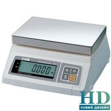Весы продуктовые CAS SW-5